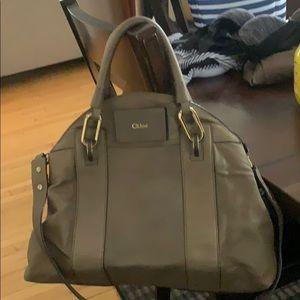 Authentic Chloe Gemma dome bag